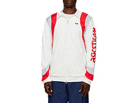 Front Top view of Color Block Track Jacket