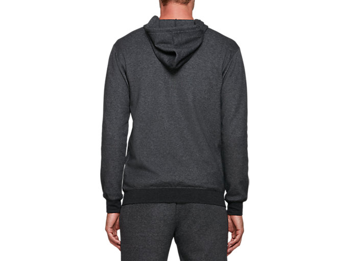 Back view of One Point Sweat Full Zip Hoodie