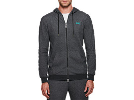 One Point Sweat Full Zip Hoodie