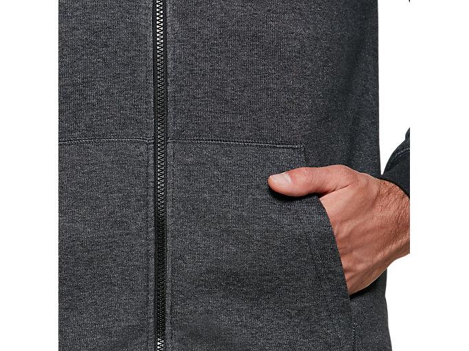 Alternative image view of One Point Sweat Full Zip Hoodie