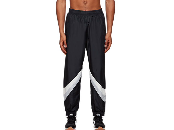 Front Top view of Color Block Woven Track Pant