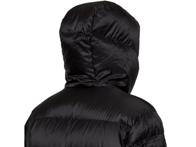 Alternative image view of Down Long Coat, PERFORMANCE BLACK