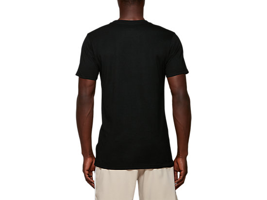 AT Graphic SS TEE PERFORMANCE BLACK