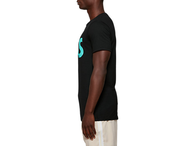 Side view of One Point Graphic Tee