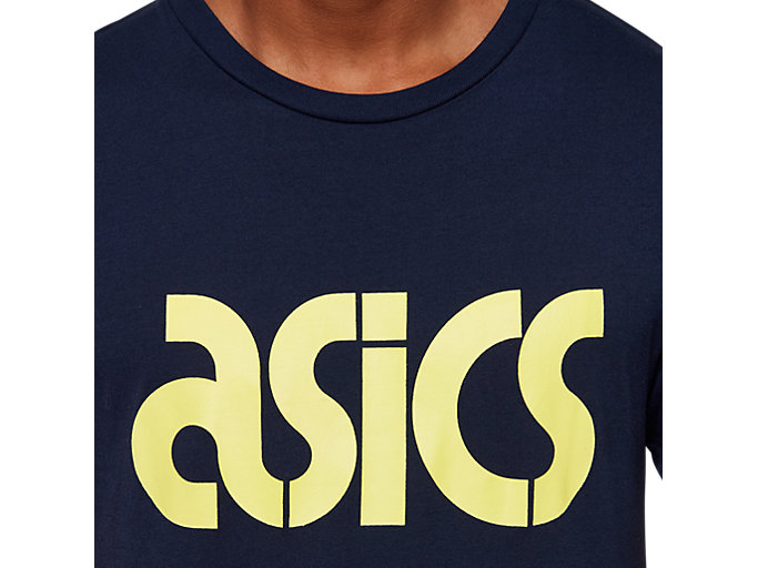 Alternative image view of AHQ AT Graphic SS TEE, MIDNIGHT
