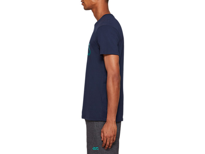 Side view of Graphic Short Sleeve Tee 1, MIDNIGHT