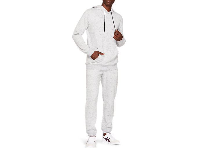 Front Top view of French Terry One Point Hoody