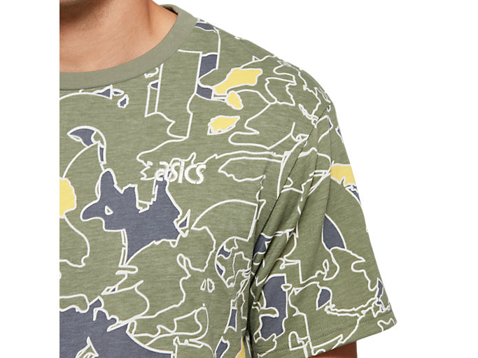 Alternative image view of Jersey All Over Print Short Sleeve