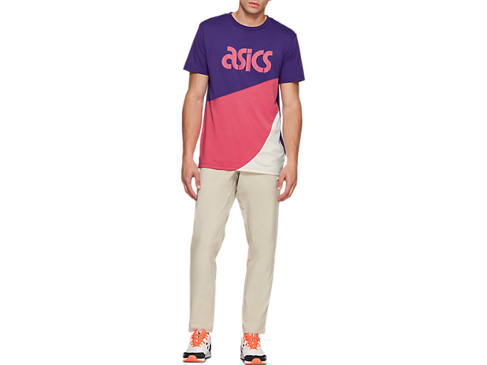 Front Top view of JSY CB SS TEE, GENTRY PURPLE
