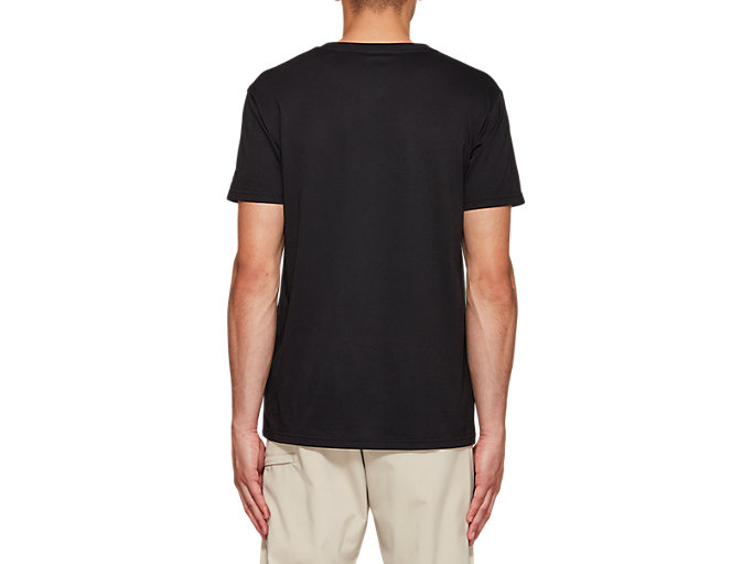 Back view of Jersey Graphic Short Sleeve Tee 1