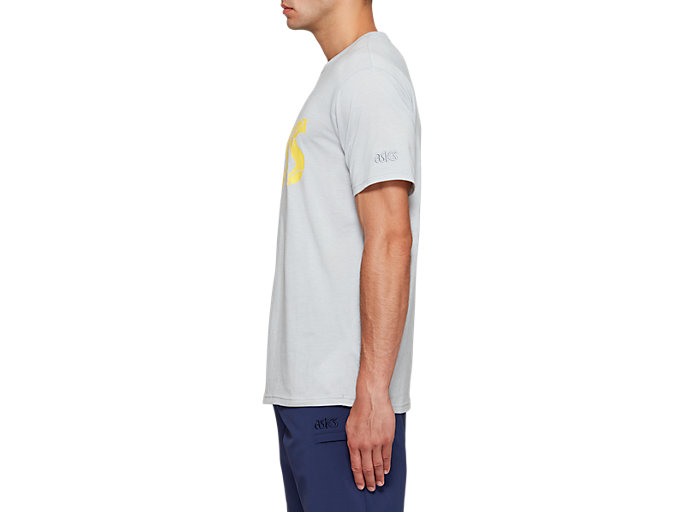 Side view of Jersey Graphic Short Sleeve Tee 1