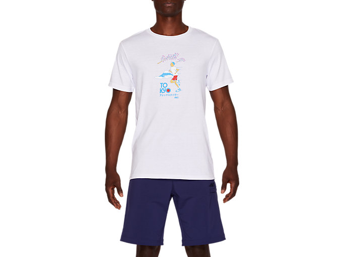 Front Top view of Jersey Graphic Short Sleeve Tee 2