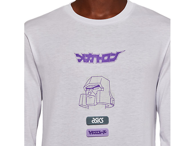 Alternative image view of TF M GRAPHIC LS TEE, REAL WHITE