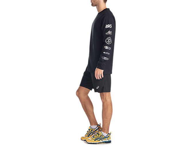 Side view of GEL-LYTE III LS TEE, PERFORMANCE BLACK