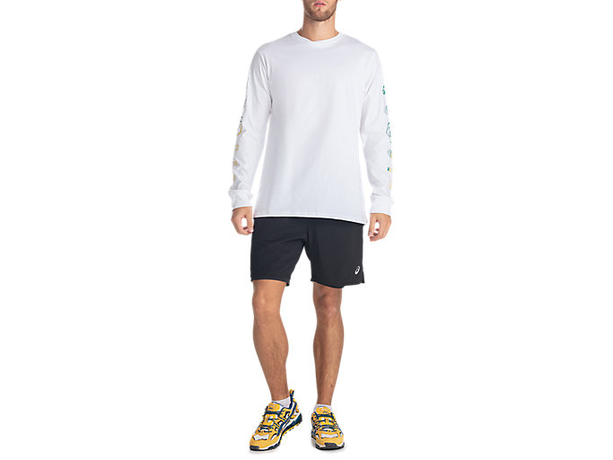 Front Top view of GEL-LYTE III LS TEE, REAL WHITE