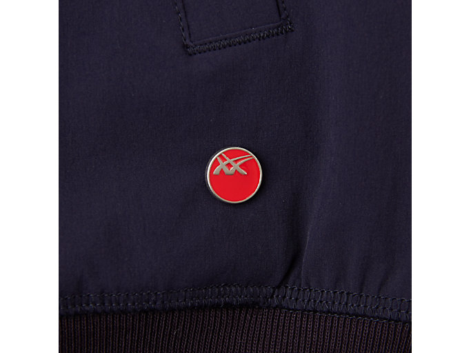 Alternative image view of MJ STRETCH WOVEN JACKET, PEACOAT