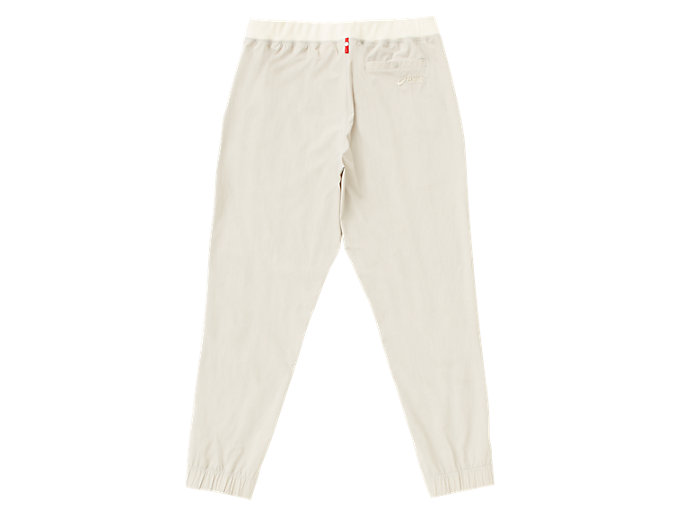 Back view of MJ STRETCH WOVEN PANT, PUTTY