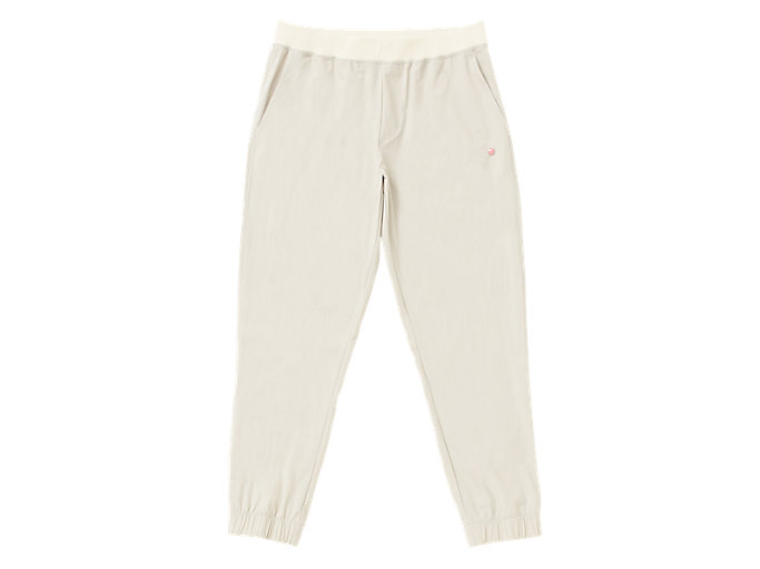 Front Top view of MJ STRETCH WOVEN PANT, PUTTY