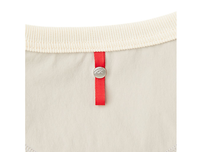 Alternative image view of MJ STRETCH WOVEN LS TOP, PUTTY