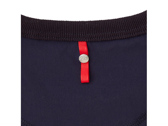 Alternative image view of MJ STRETCH WOVEN LS TOP, PEACOAT