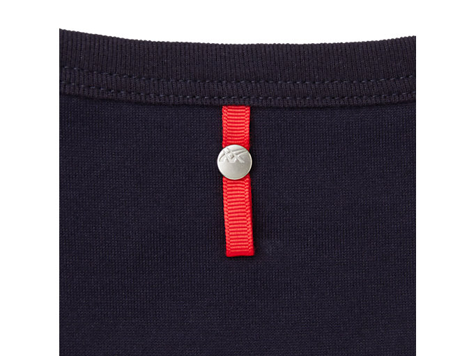 Alternative image view of MJ KNIT SS TOP, PEACOAT