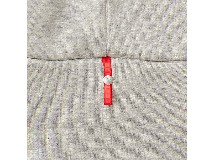 Alternative image view of MJ KNIT HOODY PULLOVER, PIEDMONT GREY HEATHER