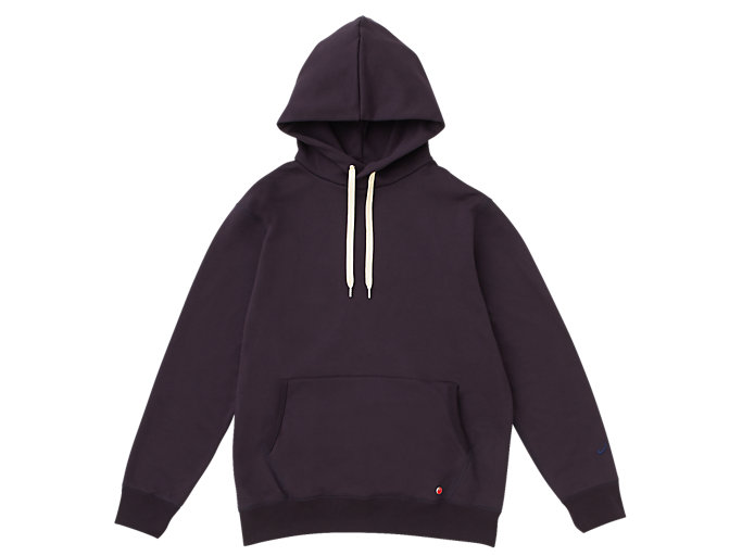 Front Top view of MJ KNIT HOODY PULLOVER, PEACOAT