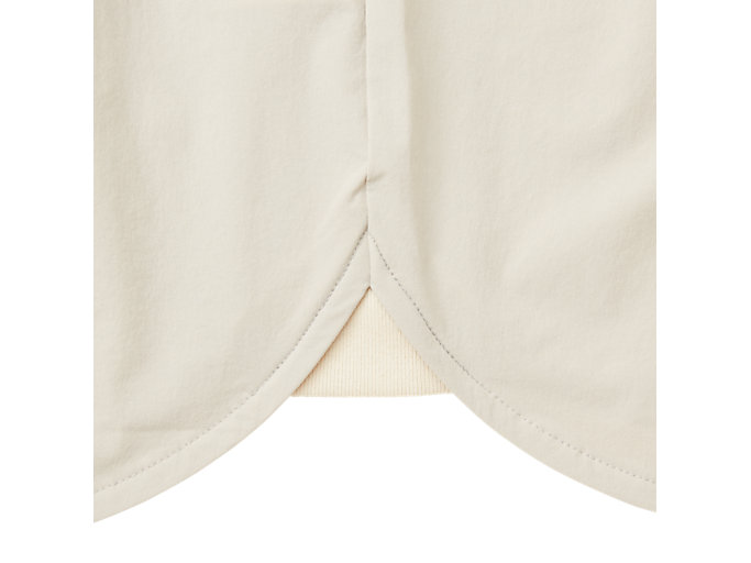 Alternative image view of MJ STRETCH WOVEN SS TOP, PUTTY