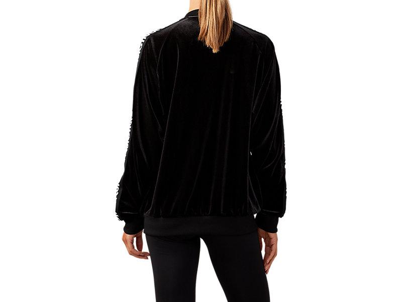 Velour Jacket PERFORMANCE BLACK 5 BK