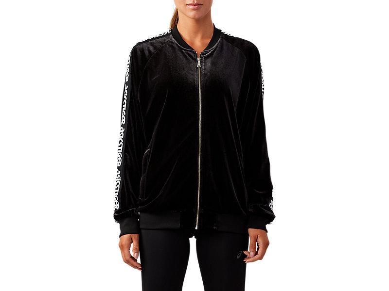 Velour Jacket PERFORMANCE BLACK 1 FT
