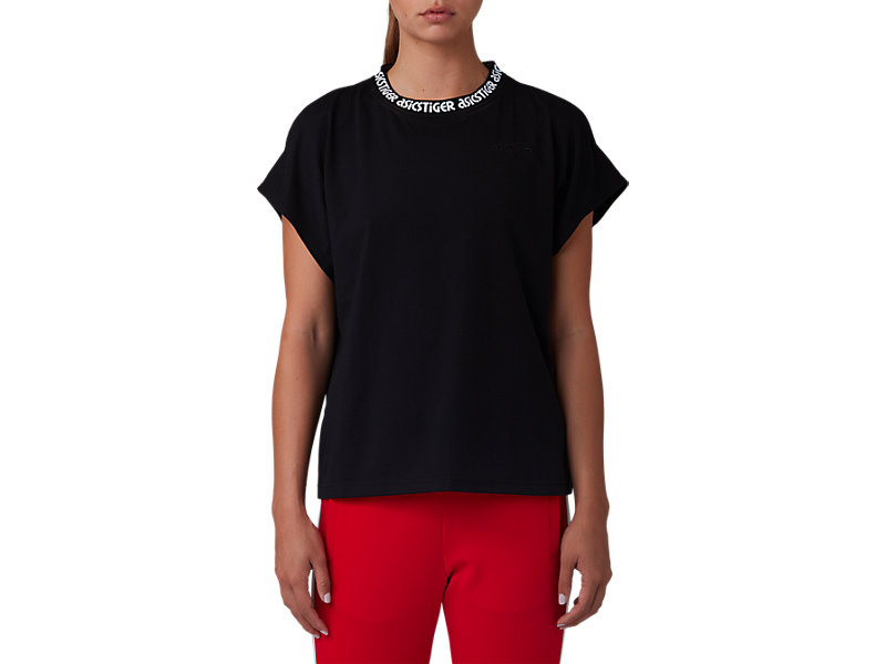 Dolman Tee Performance Black 1 FT