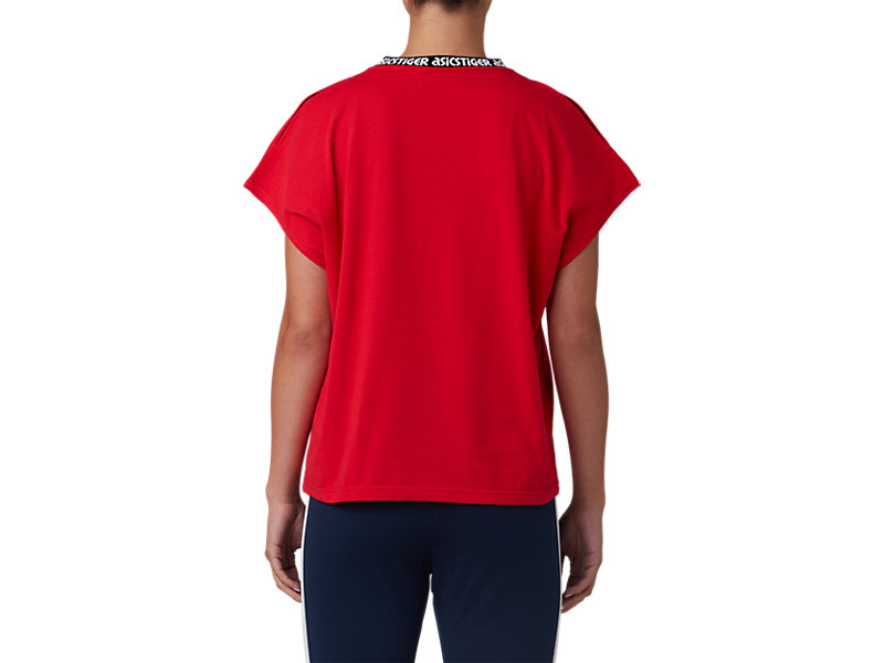 Dolman Tee Classic Red 5 BK