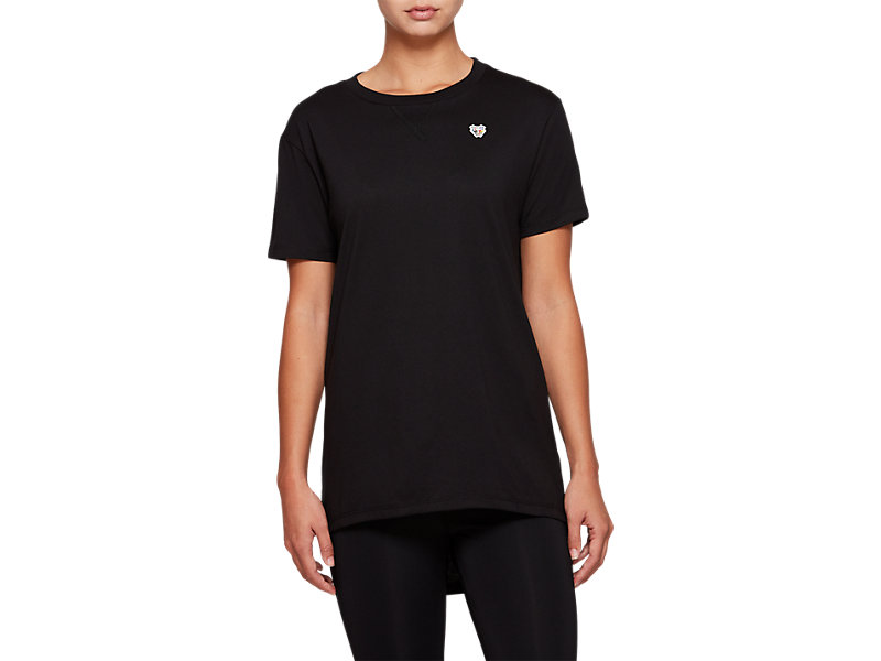 Short Sleeve Top PERFORMANCE BLACK 1 FT
