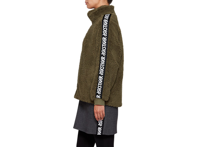 Side view of Boa Jacket