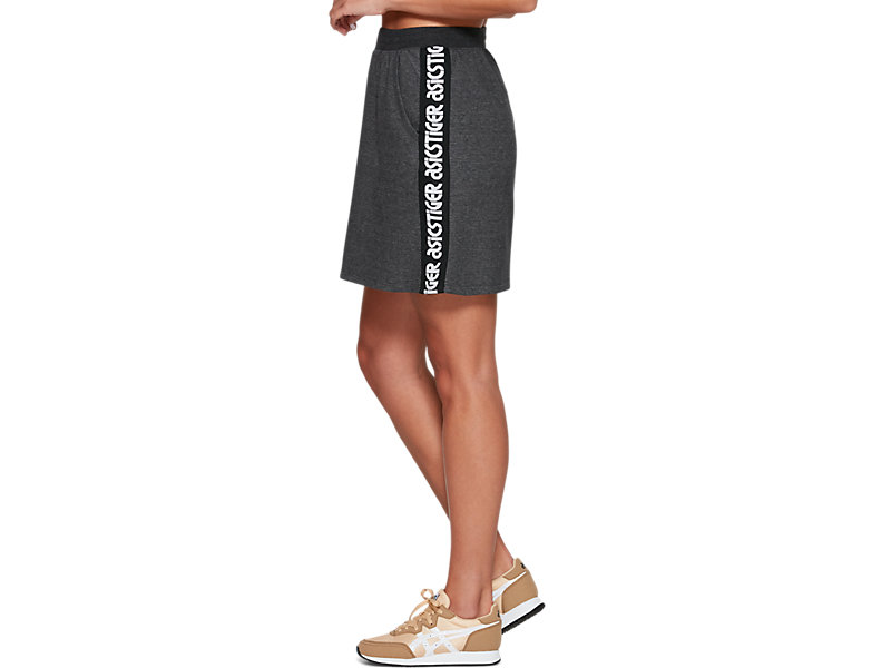 Sweat Mini Skirt PERFORMANCE BLACK HEATHER 9 Z