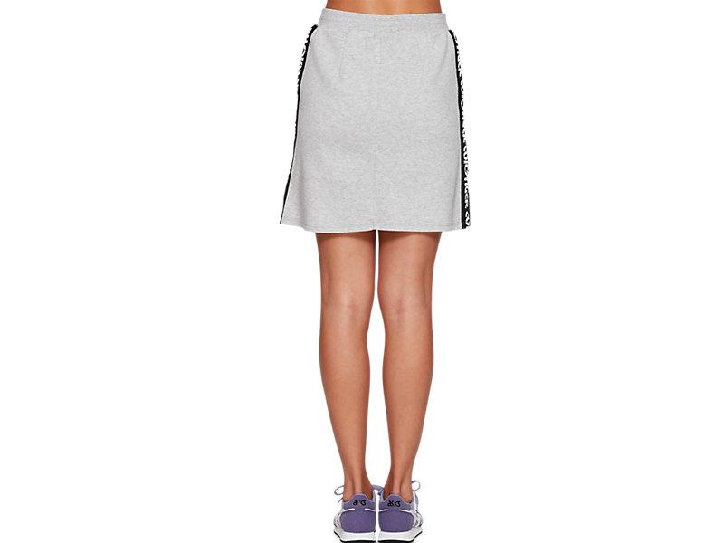 Sweat Mini Skirt MID GREY HEATHER 5 BK