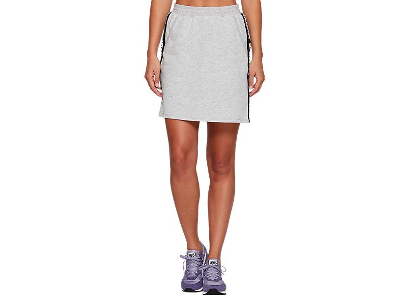 Sweat Mini Skirt MID GREY HEATHER 1 FT