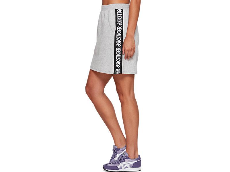 Sweat Mini Skirt MID GREY HEATHER 9 Z
