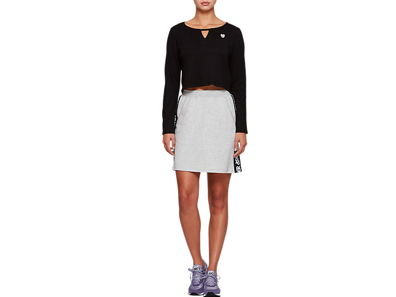 Sweat Mini Skirt MID GREY HEATHER 17 Z