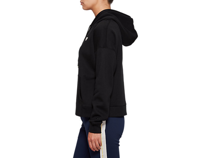 Side view of Fleece Pull Over Hoodie