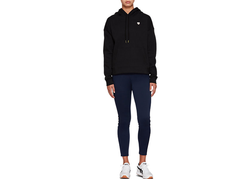Fleece Pull Over Hoodie PERFORMANCE BLACK 21 Z
