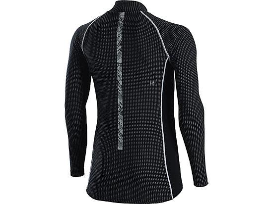 ウィンジョブハイネックロングスリーブシャツ, BLACK/BLACK