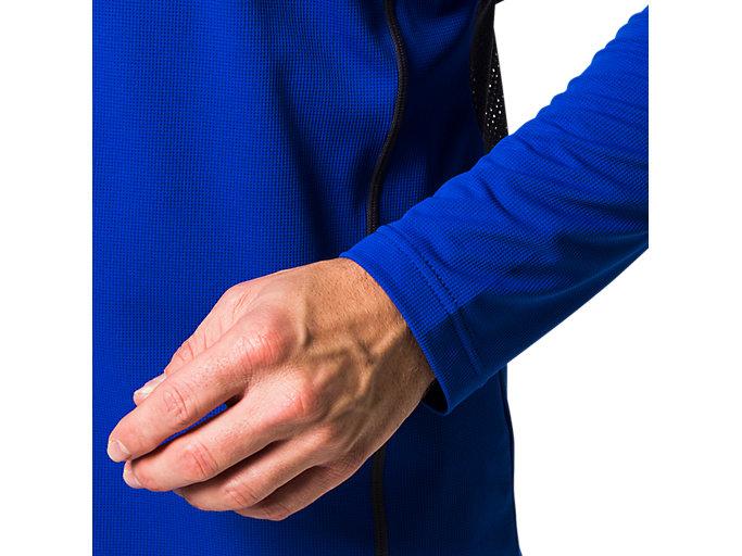 Alternative image view of ウィンジョブ®ロングスリーブクールトップ, Aブルー