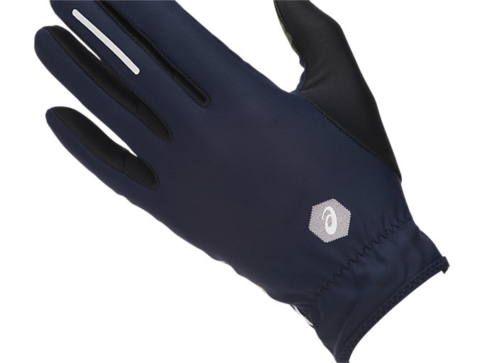 Alternative image view of LITE- SHOW GLOVES, PEACOAT/PERFORMANCE BLACK