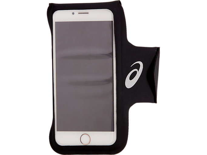 Front Top view of ARM POUCH PHONE, PERFORMANCE BLACK