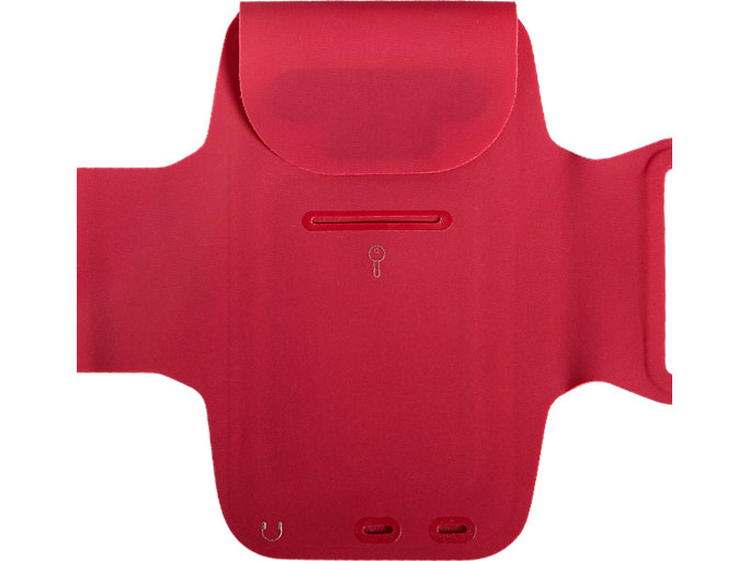 Back view of ARM POUCH PHONE, BRIGHT ROSE