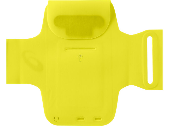 Back view of ARM POUCH PHONE, LEMON SPARK