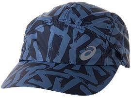 ランニングプリントキャップ, INDIGO BLUE/DIRECTOIRE BLUE
