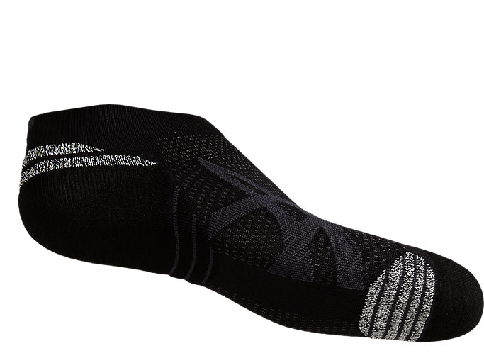 Back view of ROAD ANKLE GRIP, PERFORMANCE BLACK