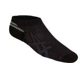 Front Top view of ROAD ANKLE GRIP, PERFORMANCE BLACK